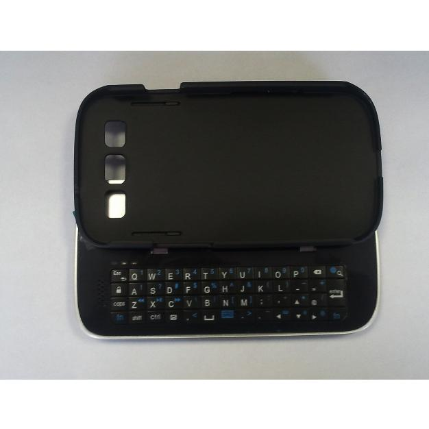 Tastiera Bluetooth Slide and Stand i9300 Galaxy S3 Nera