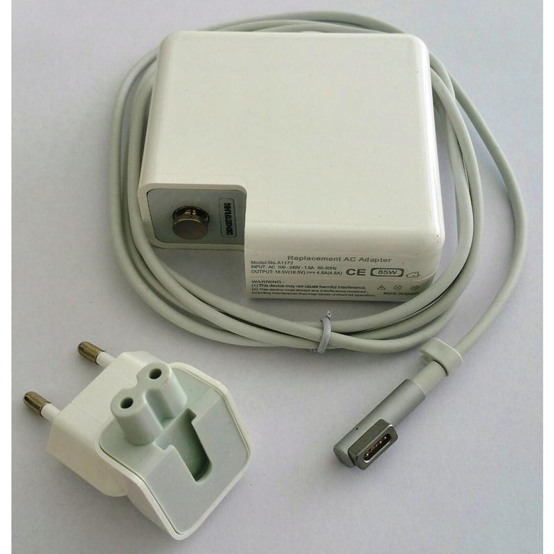 MagSafe 1 Caricabatterie da 85W per Apple MacBook-Pro 15  17  alimentatore