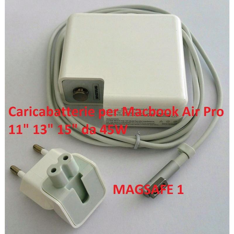 MAGSAFE 1 Alimentatore 45W caricabatterie Apple MacBook Air-