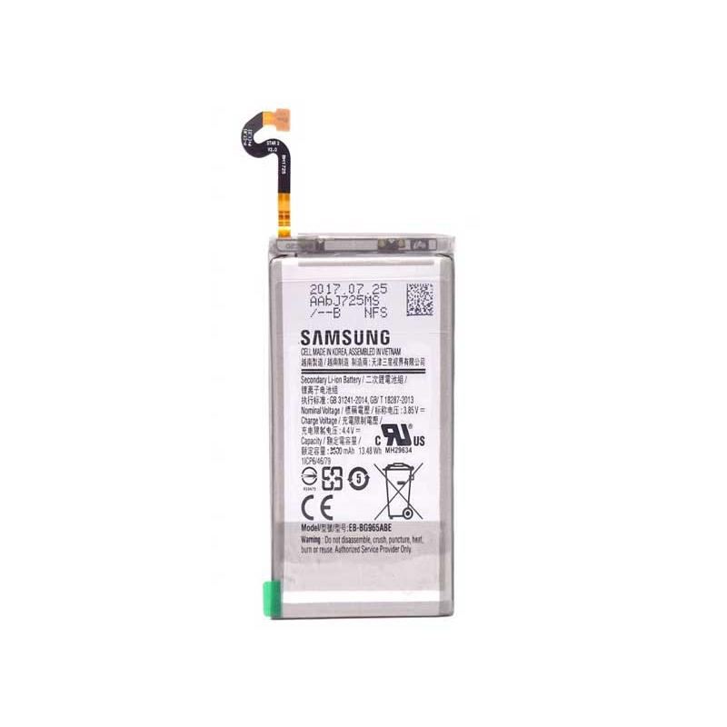 BATTERIA EB-BG965ABE per SAMSUNG GALAXY S9+ PLUS SM-G965 da 3500MAH+kit 9 in 1 biadesivo e colla b7000