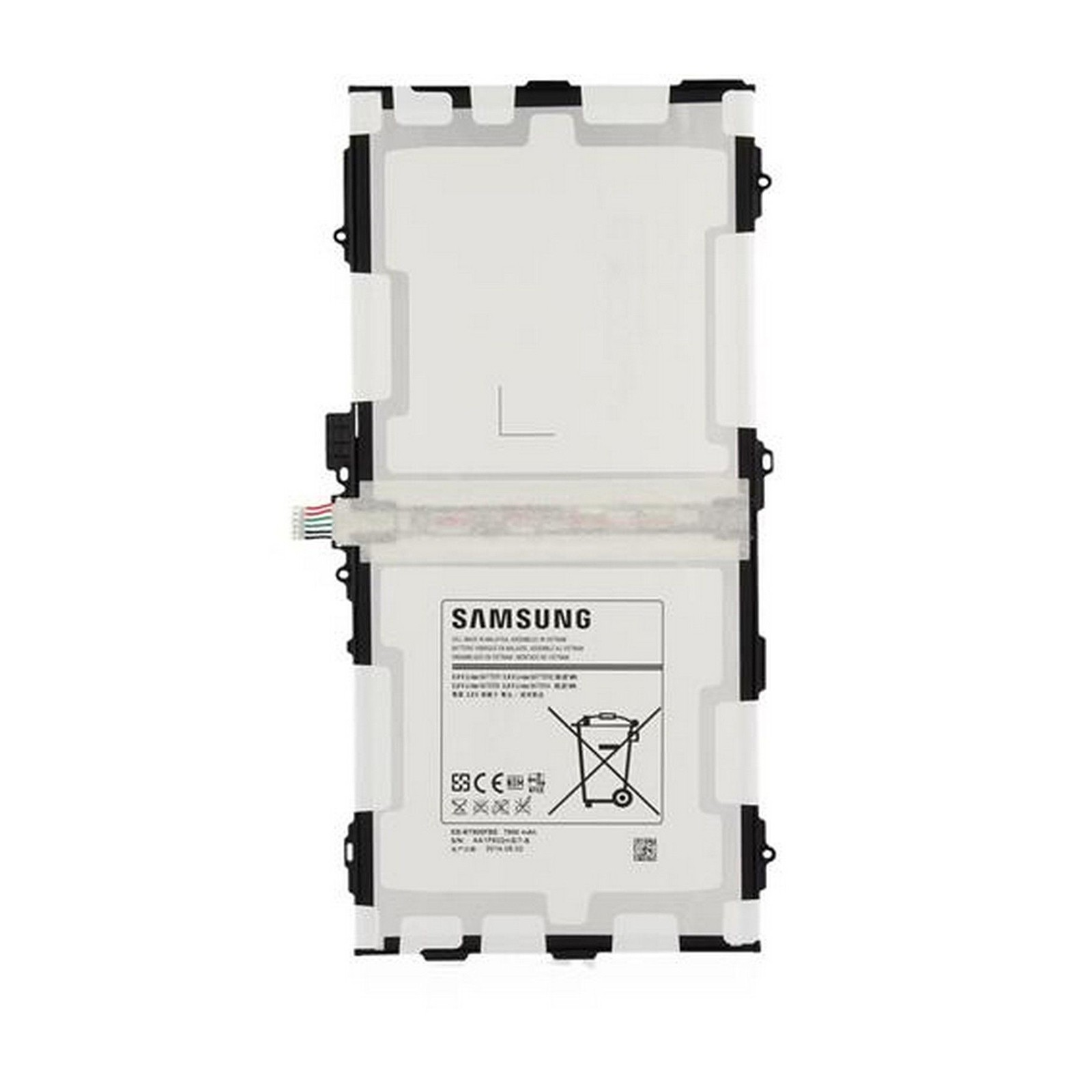 Batteria EB-BT800FBE Per Samsung Galaxy Tab S 10.5 SM-T800 T805+kit 9 in 1 biadesivo e colla b7000