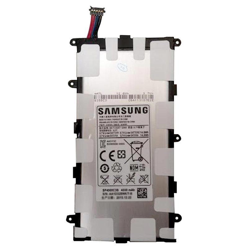 Batteria SP4960C3B per Samsung 4000Mah GALAXY TAB 2 7.0 P3100 P3110 P6200 +kit 9 in 1 biadesivo e colla b7000