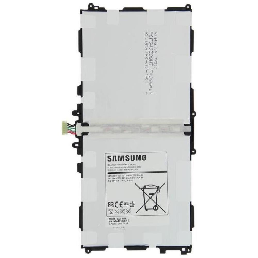 Batteria T8220E Samsung Galaxy Note 10.1 2014 P600 P605 P601 8220 mAh+kit 9 in 1 biadesivo e colla b7000