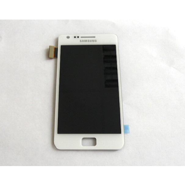 Display e Touch Screen Samsung i9100 Galaxy S2 Bianco Kit Smontaggio 12 in 1 Biadesivo