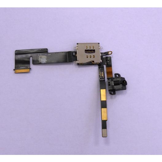 AUDIO JACK EARPHONE FLEX CABLE IPAD2 3G