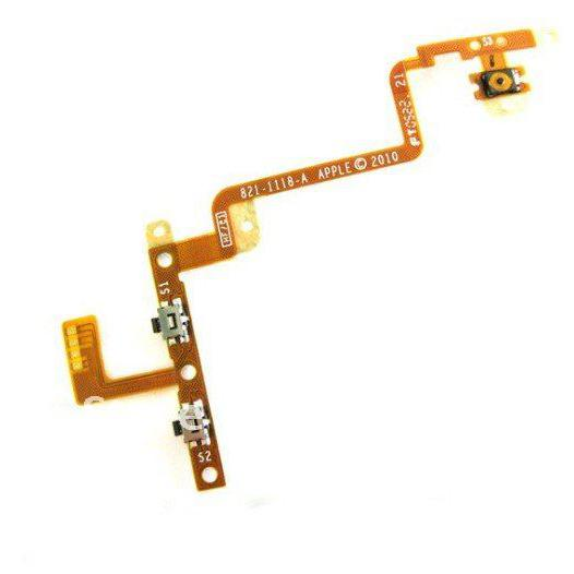 Cavo Flex On Off Power Button Accensione Volume iPod Touch 4G A1367
