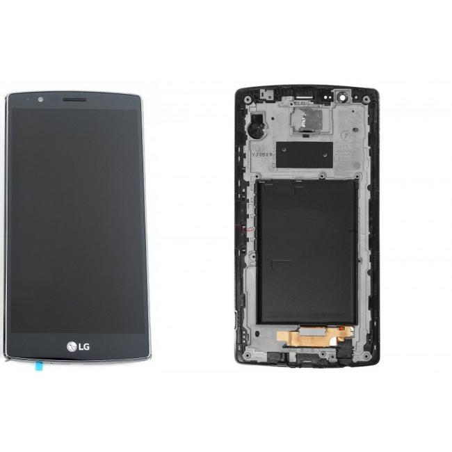 TOUCH SCREEN LCD DISPLAY FRAME NERO LG G4  + KIT 12 IN 1