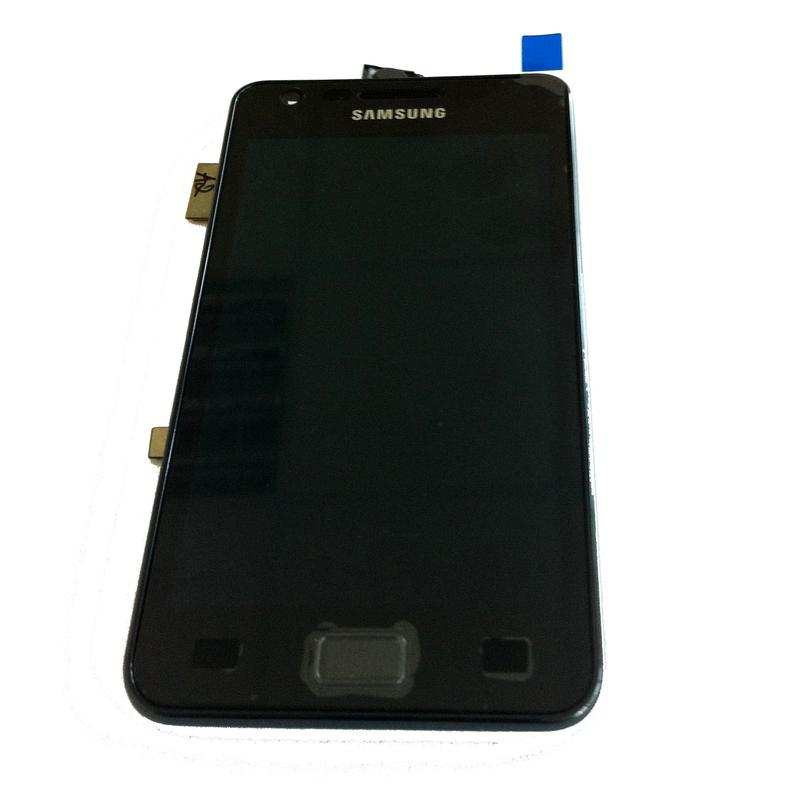 DISPLAY I9100 S2 TOUCH SCREEN FRONT COVER FRAME