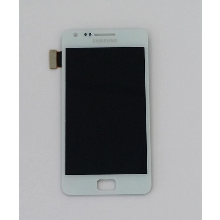 Lcd Display Touch Screen Bianco i9105 Samsung Galaxy S2 S II Plus Kit Smontaggio 12 in 1  Più Biadesivo