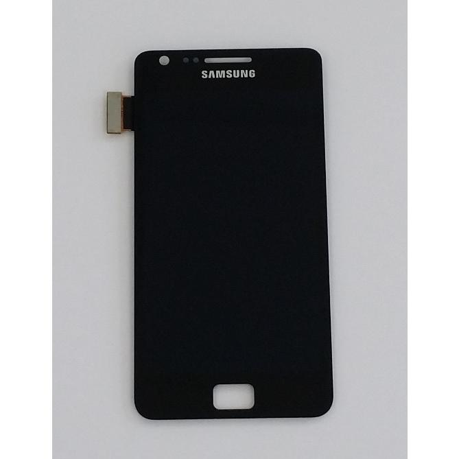 Lcd Display Touch Screen Nero i9105 Samsung Galaxy S2 S II Plus Kit Smontaggio 12 in 1