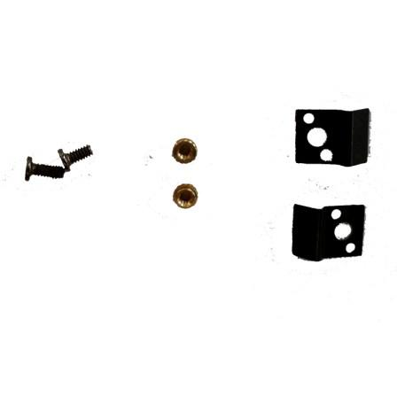 IPAD LCD FRAME CLIPS E SCREWS NUTS SET 2 PEZZI