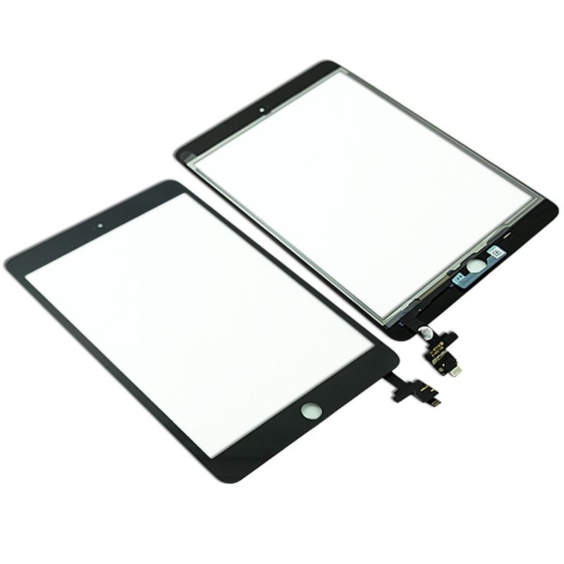 Touch Screen Nero iPad Mini 3 A1599 A1600 Kit Smontaggio 12 in 1 Vetro con connettore IC