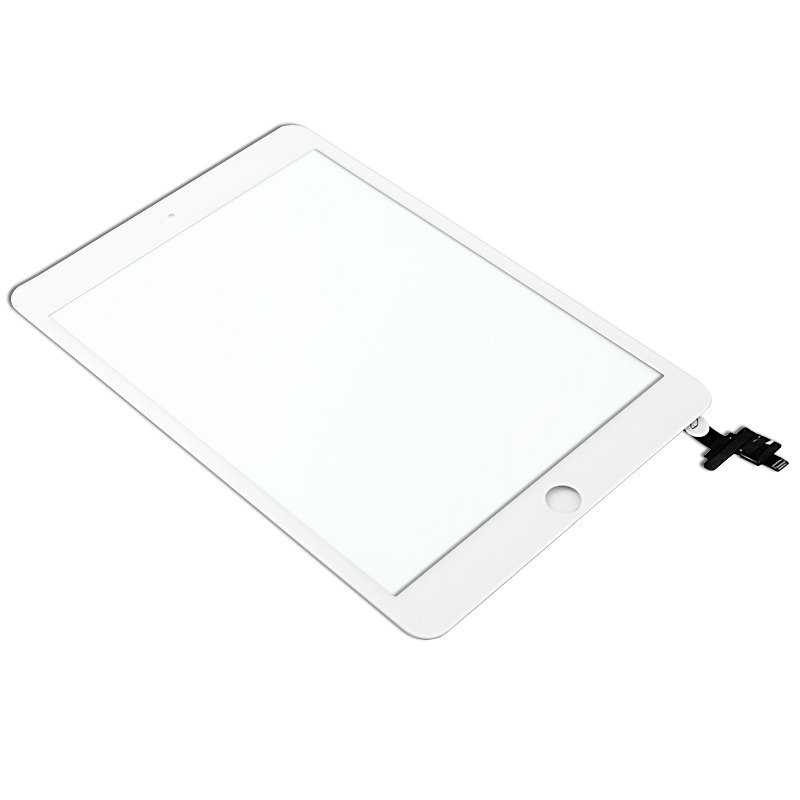 Touch Screen Bianco iPad Mini 3 A1599 A1600 con IC Kit Smontaggio 12 in 1