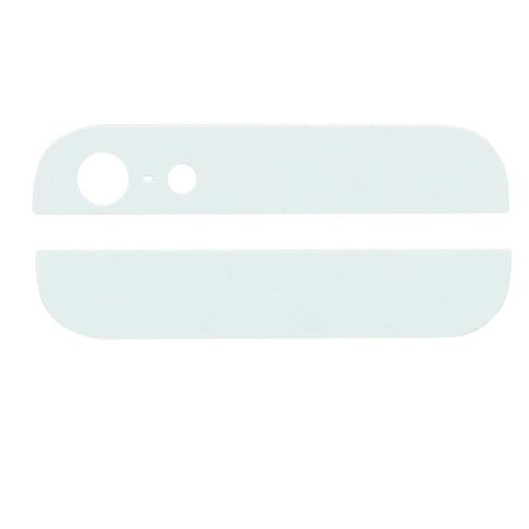 Cover Superiore e Inferiore Vetro Apple Iphone 5 Bianca