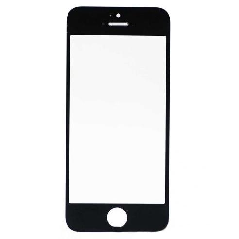 Vetro Frontale Apple iPhone 5S A1457 Nero + Adesivo