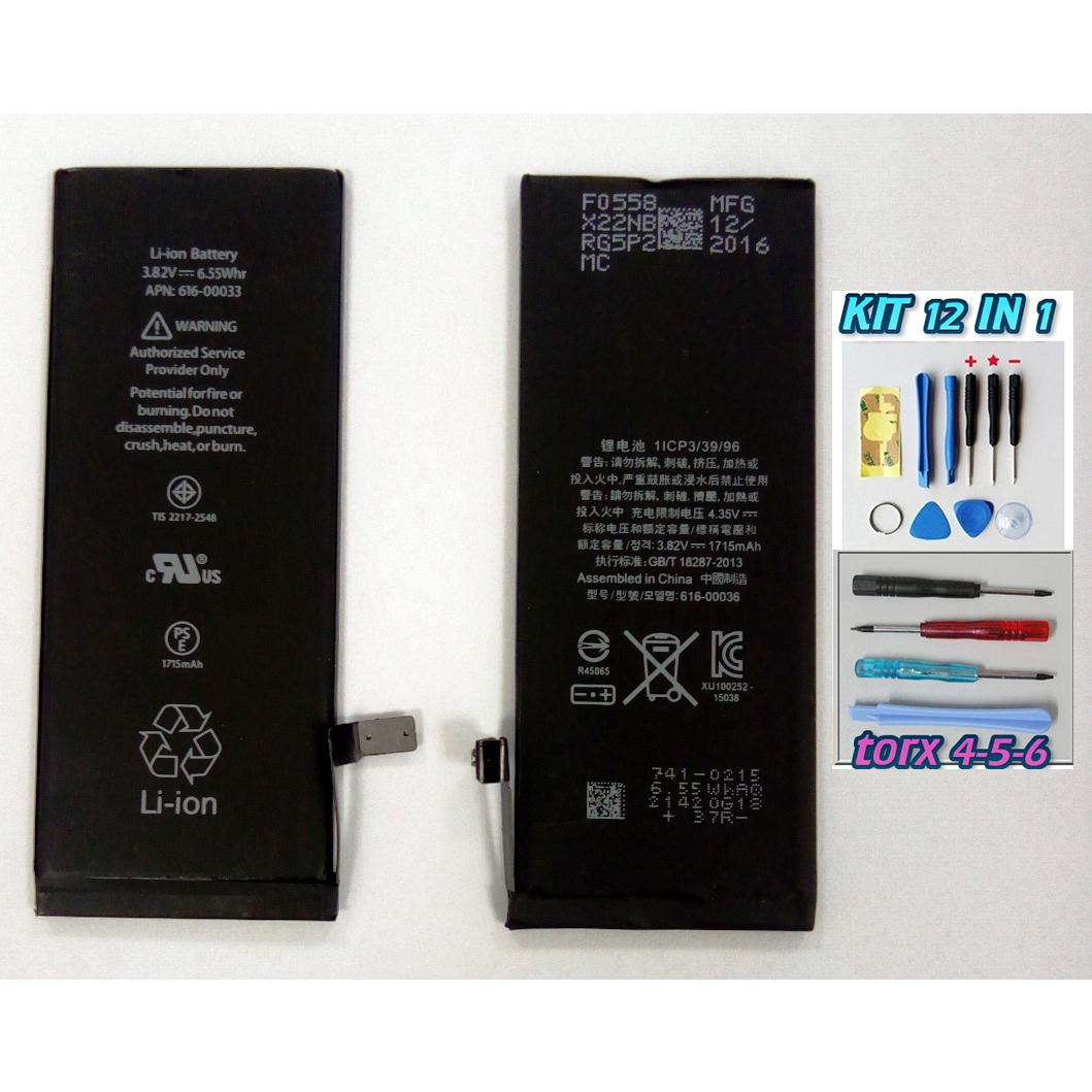 BATTERIA per APPLE IPHONE 6S da 1715 mAh +kit cacciaviti 9 in 1