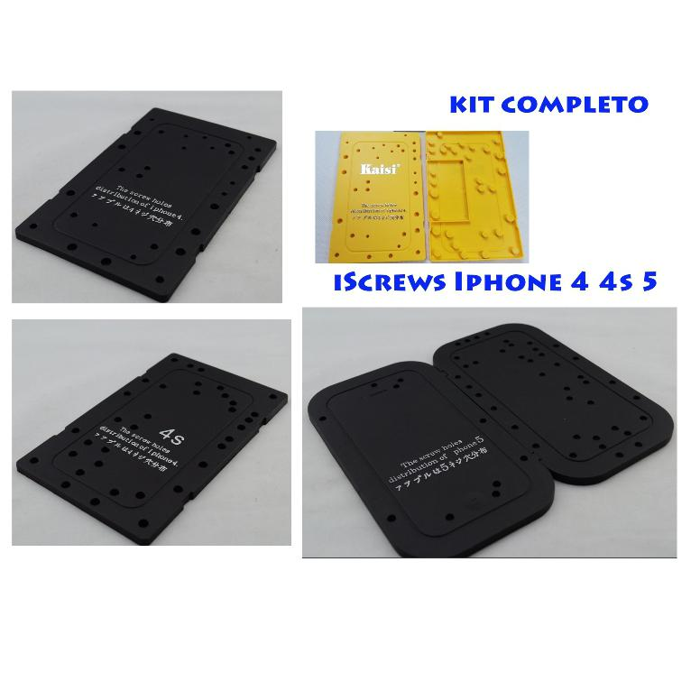 Screws screw chart mappa viti iPhone 4 4S 5 Kit Completo