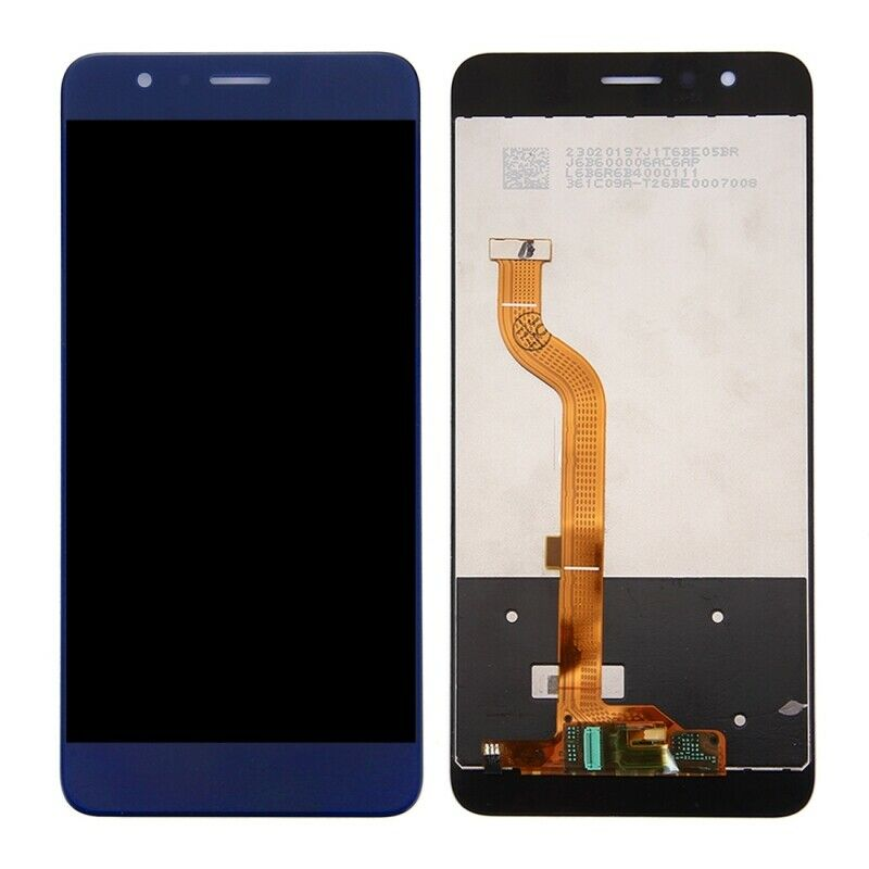 LCD DISPLAY TOUCH SCREEN Per HUAWEI HONOR 8 BLU FDR-L09+ b7000 e kit 9 in 1+biadesivo