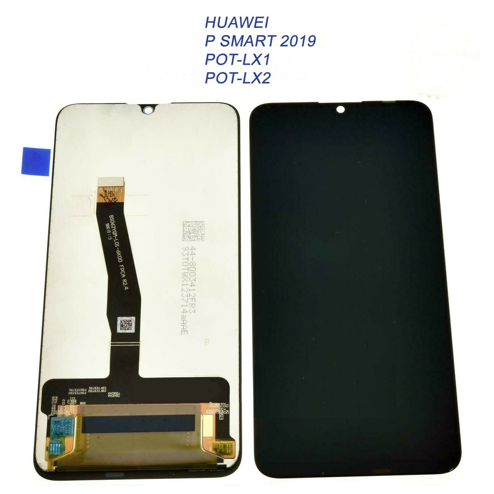 lcd touch screen huawei p smart 2019 nero