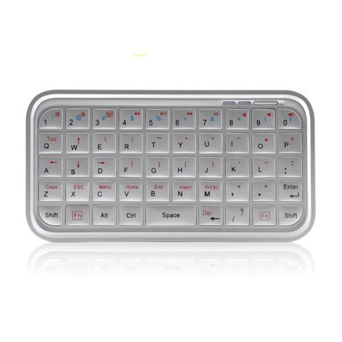 Tastiera Compact Bluetooth Universale Bianca Ipad Iphone Ipod Touch e PS3
