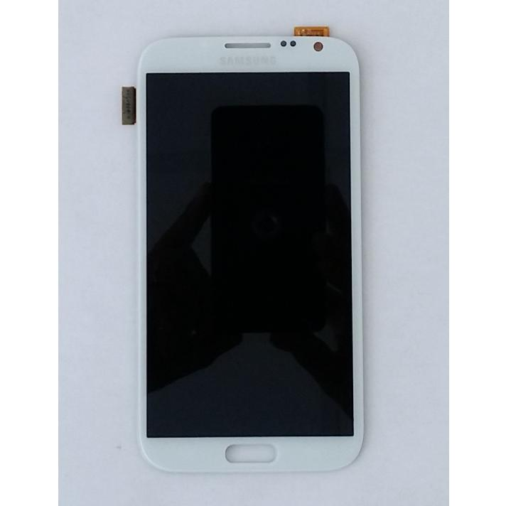 Display LCD e Touch Screen N7100 N7105 Galaxy Note 2 Bianco LTE