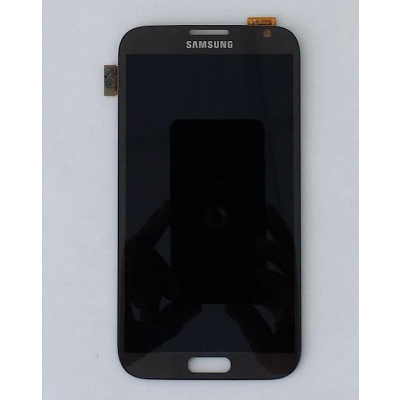 Display LCD e Touch Screen N7100 N7105 Galaxy Note 2 Titan Grey LTE