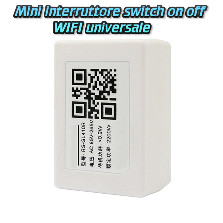 VOLPORT ORIGINALE SMART HOME WIFI INTERRUTTORE SWITCH ON OFF DOMOTICA