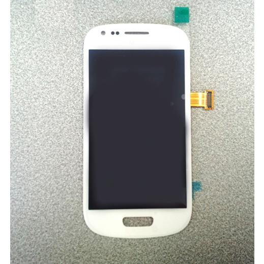 Display e Touch Screen  Bianco Samsung i8190  i8200 Kit 12 in 1 Smontaggio Biadesivo Galaxy S3 Mini