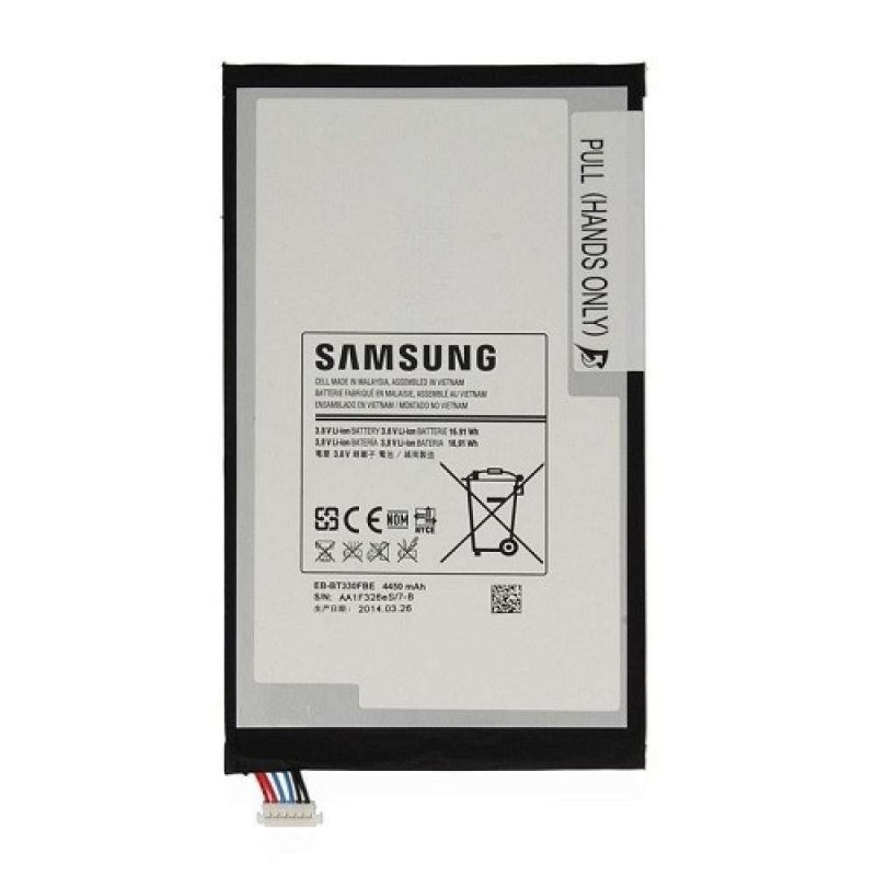 Samsung Batteria EB-BT330FBE per GALAXY TAB 4 8.0 T330 T331 T335 +kit 9 in 1 biadesivo e colla b7000