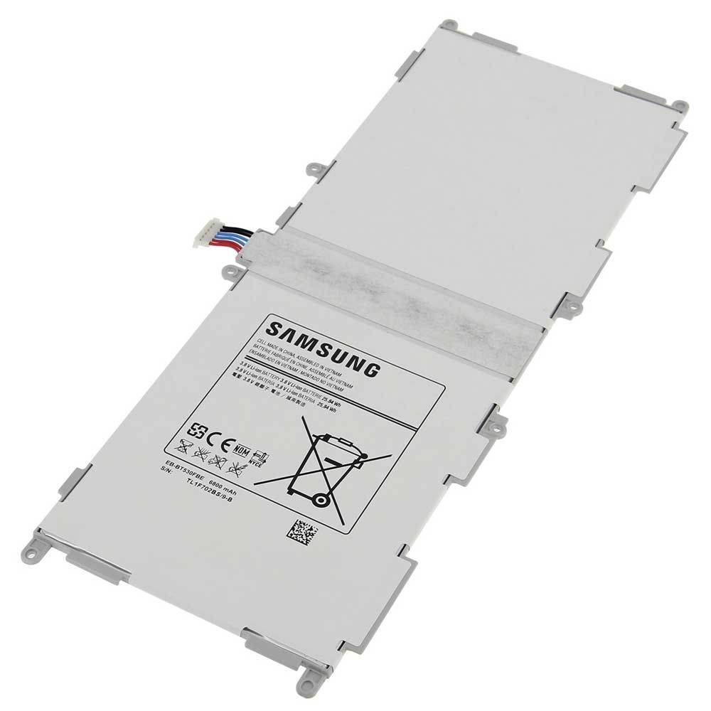 SAMSUNG BATTERIA EB-BT530FBE 6800mAh GALAXY TAB 4 10.1 T530 - LTE T535+kit 9 in 1 biadesivo e colla b7000