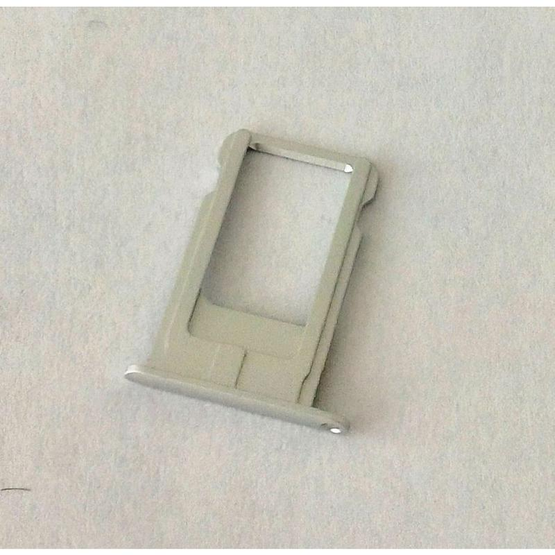 SIM TRAY CASSETTO SLOT PER SIM CARD WHITE BIANCO PER APPLE IPHONE 6 PLUS 5.5