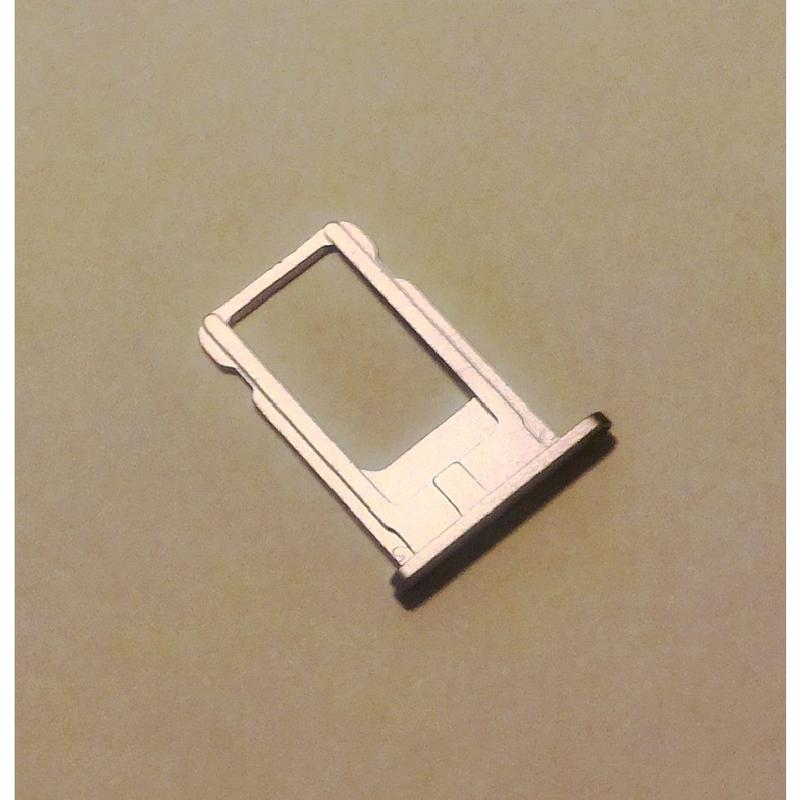 SIM TRAY CASSETTO SLOT PER SIM CARD SILVER ARGENTO PER APPLE IPHONE 6 4.7