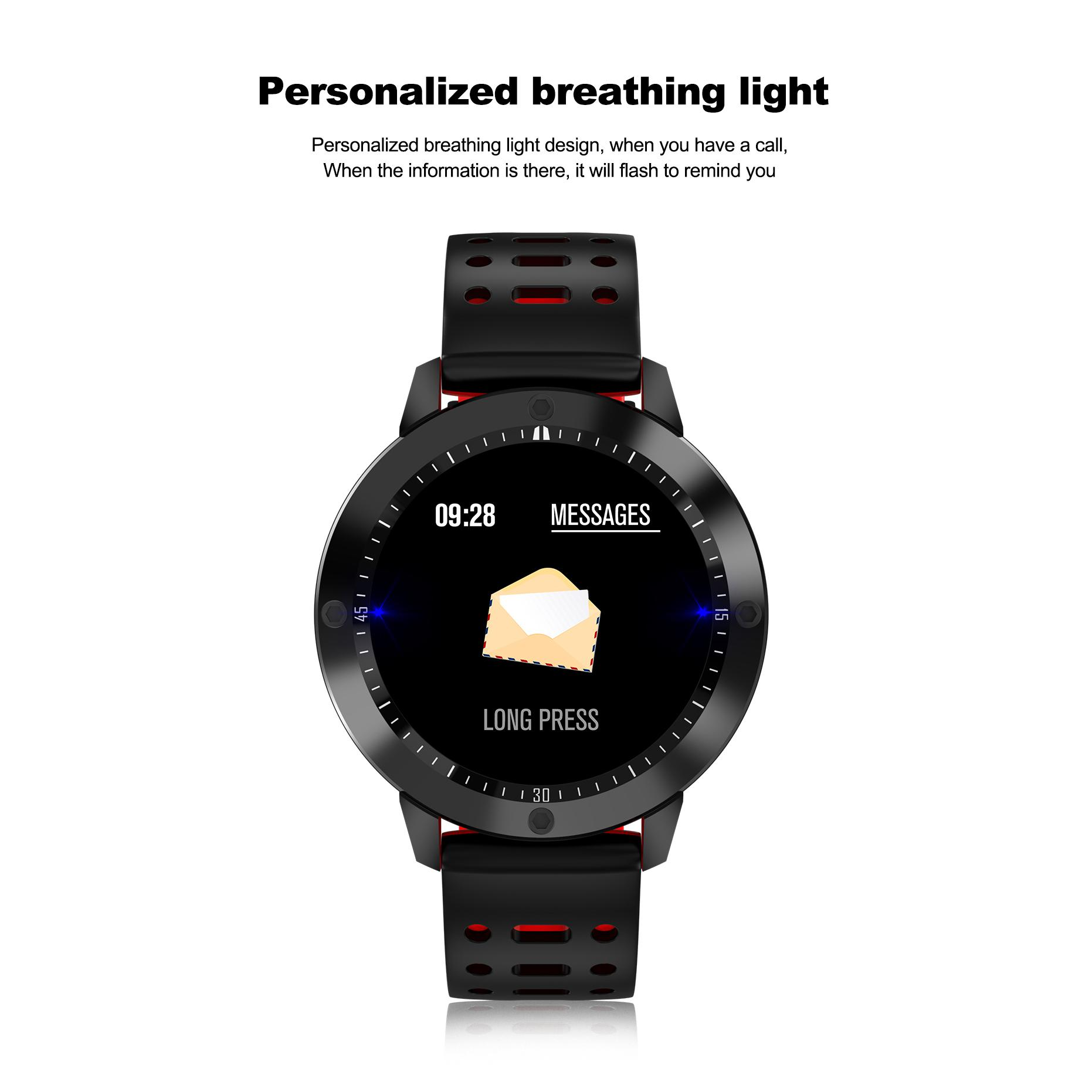 Smart Watch Fitness Cardio contapassi lcd a colori android ios impermeabile tracker gps app smartphone