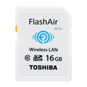 Toshiba SD HC Wireless Flash Air 16 GB