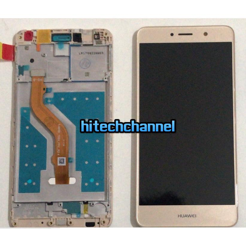 Touch screen display lcd con frame HUAWEI NOVA LITE PLUS TRT-LX1 ORO GOLD assemblato + kit 9 in 1+biadesivo