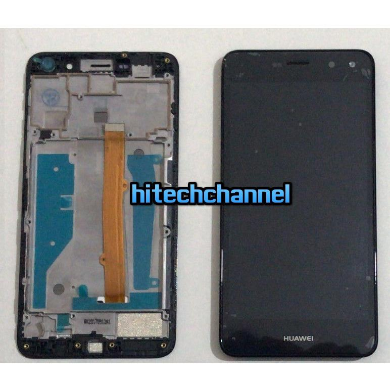 Touch Screen Display LCD FRAME Huawei NOVA YOUNG 2017 MYA-L11 NERO +kit 9in1