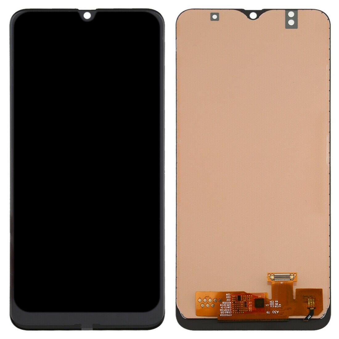 Touch Screen Display LCD per Samsung Galaxy A50 2019 SM-A505FN SM-A505DS +kit smontaggio biadesivo e colla b7000