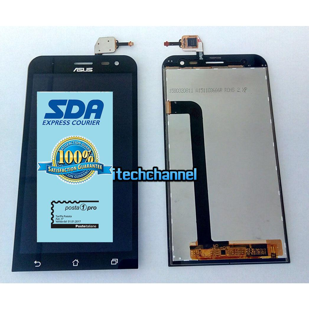 Touch screen lcd display ASUS Zenfone 2 Laser ZE500 ZE500KL Z00ED +biadesivo+kit montaggio