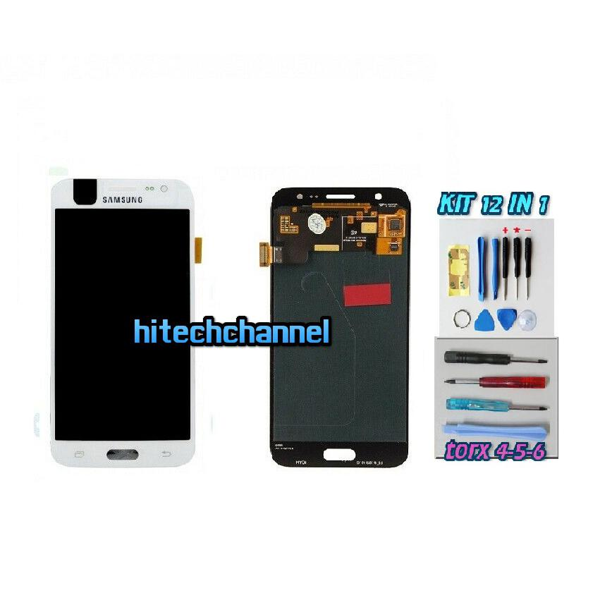 TOUCH SCREEN LCD DISPLAY BIANCO Samsung Galaxy J5 2015 J500 J500FN+kit 9+biadesi