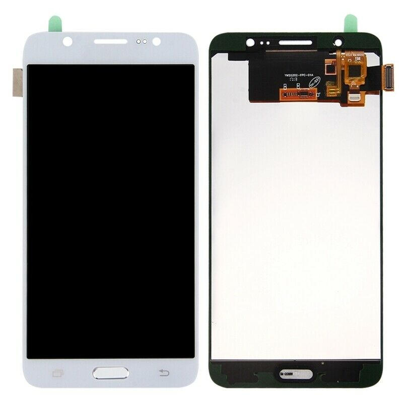 TOUCH SCREEN LCD DISPLAY BIANCO Samsung Galaxy J7 2016 J710 SM-J710FN + kit 9 in 1 biadesivo e colla B7000