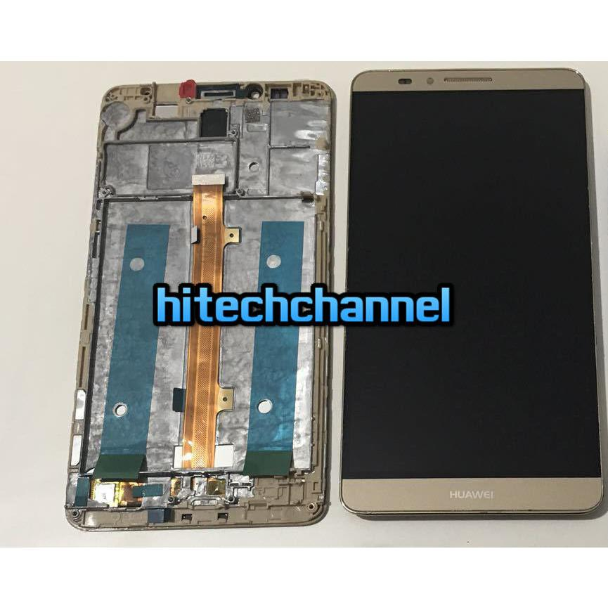 TOUCH SCREEN LCD DISPLAY FRAME HUAWEI MATE 8 GOLD ORO +colla B7000 kit 9 in 1 e biadesivo