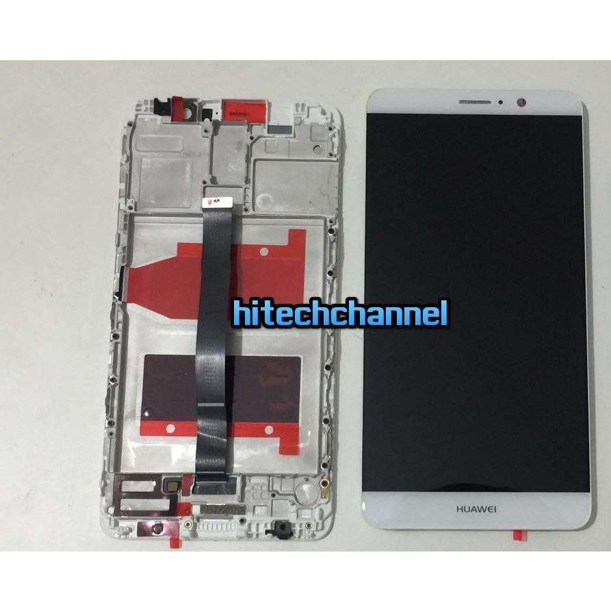 TOUCH SCREEN LCD DISPLAY FRAME HUAWEI ASCEND MATE 9 BIANCO MHA-L00  MHA-L09  MHA-L29 originale+BIADESIVO
