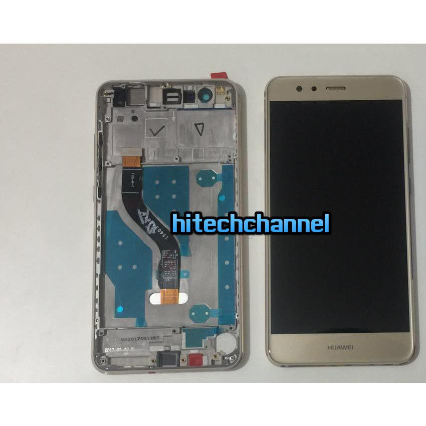 TOUCH SCREEN LCD DISPLAY FRAME HUAWEI P10 LITE gold+colla B7000 kit 9 in 1 e biadesivo