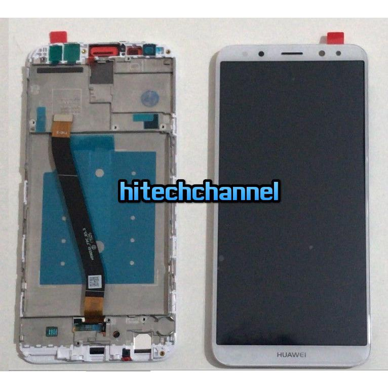 TOUCH SCREEN LCD DISPLAY FRAME HUAWEI MATE 10 LITE BIANCO RNE-L21 L01 +kit 9 in 1