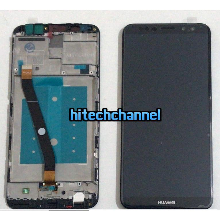 TOUCH SCREEN LCD DISPLAY FRAME HUAWEI MATE 10 LITE NERO RNE-L21 L01 +kit 9 in 1