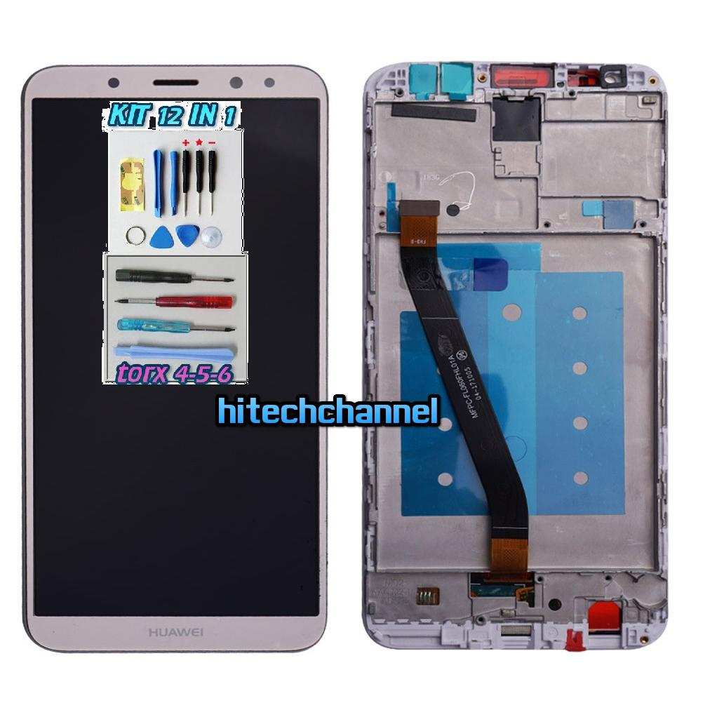 TOUCH SCREEN LCD DISPLAY FRAME HUAWEI MATE 10 LITE ORO GOLD RNE-L21 L01 +kit 9 in