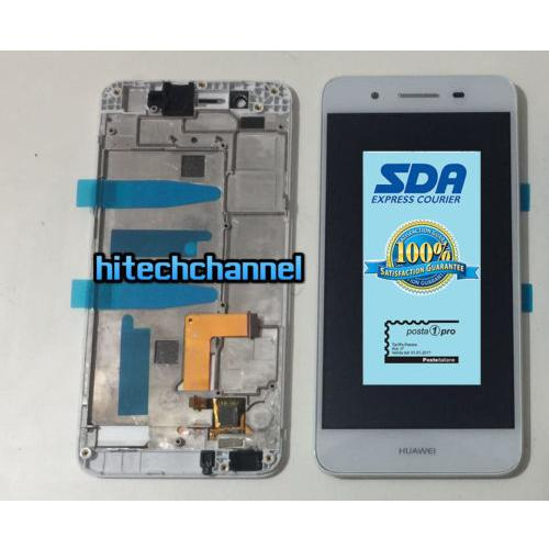 Touch screen LCD display FRAME HUAWEI P8 LITE SMART BIANCO TAG L01 GR3