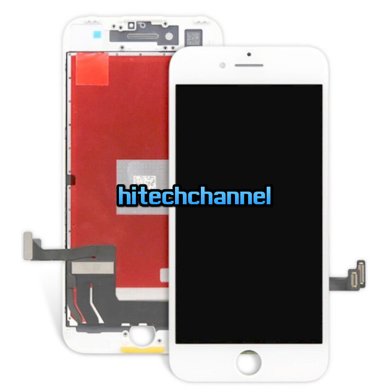 Touch screen lcd display frame per apple iphone 7 bianco 4.7 assemblato