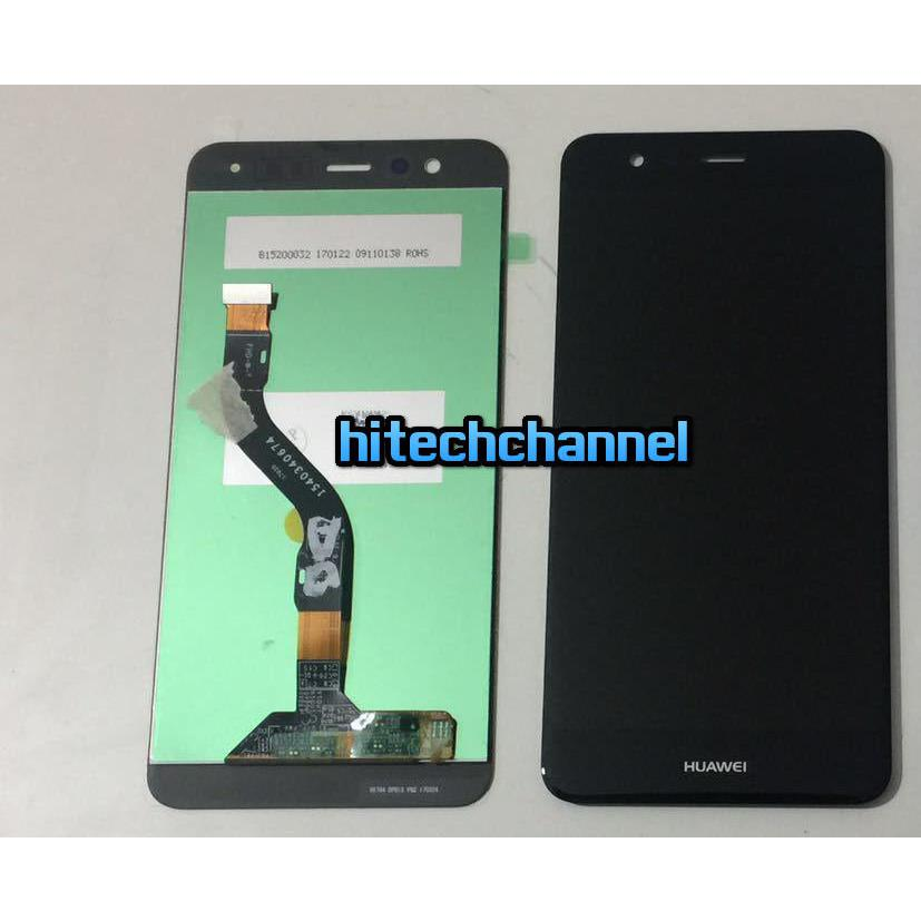 TOUCH SCREEN LCD DISPLAY HUAWEI P10 LITE  nero +colla B7000 kit 9 in 1 e biadesivo