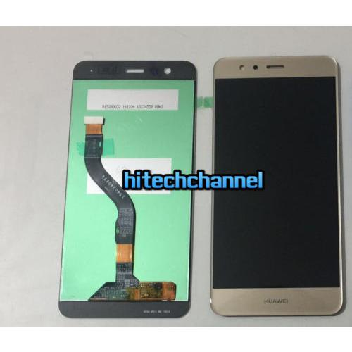TOUCH SCREEN LCD DISPLAY HUAWEI ASCEND P10 LITE GOLD ORO originale+BIADESIVO